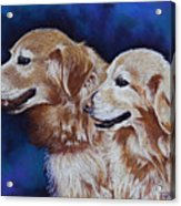 Bff Best Friends Forever Acrylic Print