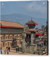 Bhaktapur Durbar Square In Kathmandu Valley, Nepal Acrylic Print