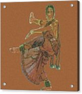 Bharatanatyam 11 Acrylic Print
