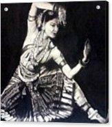 Bharatnatyam Acrylic Print