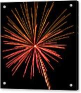 Bi-color Fireworks 2 Acrylic Print