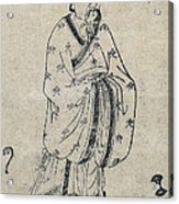 Bian Que, Ancient Chinese Physician Acrylic Print