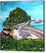 Biarritz Bridge Acrylic Print