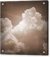 Biblical Clouds Acrylic Print
