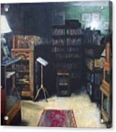 Bibliopoly Acrylic Print