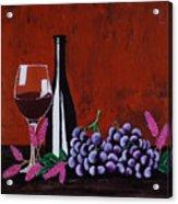 Bicchiere Di Vino Acrylic Print