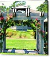Bicentennial Rose Garden Acrylic Print