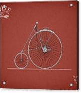 Bicycle 1885 Acrylic Print
