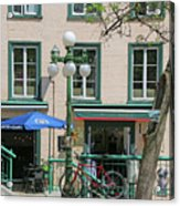 Bicycle And Lamppost 6417 Acrylic Print
