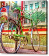 Bicycle Art Acrylic Print