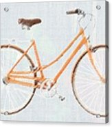 Bicycle Blues Acrylic Print