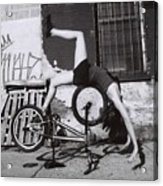 Bicycle Gymnastics 4 Acrylic Print