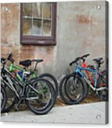 Bicycle Parking Acrylic Print