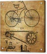 Bicycle Patent  Acrylic Print
