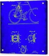 Bicycle Patent Drawing 4b Acrylic Print