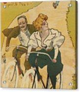 Bicycle Poster, 1895 Acrylic Print