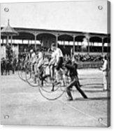 Bicycle Race, 1890 Acrylic Print