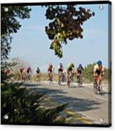 Bicycle Race Acrylic Print