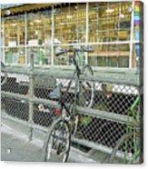 Bicycle Rack Acrylic Print
