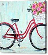 Bicycle Spring Break Acrylic Print