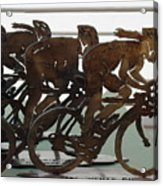 Bicycle Trophies Acrylic Print