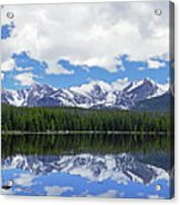 Bierstadt Lake Panorama Acrylic Print