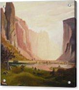 Bierstadt Rendition Acrylic Print
