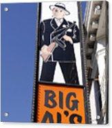 Big Al Acrylic Print by Denise Pohl