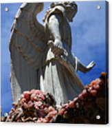 Big Angel Wings Acrylic Print