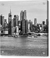 Big Apple Skyline Acrylic Print