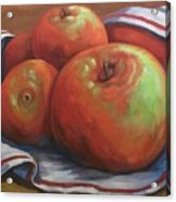 Big Apples Acrylic Print