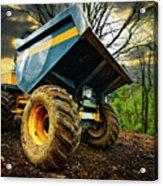 Big Bad Dumper Truck Acrylic Print by Meirion Matthias