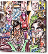 Big Bang Theory Acrylic Print by Big Mike Roate
