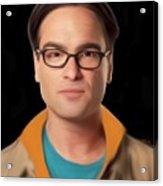 Big Bang Theory Leonard Acrylic Print
