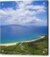 Big Beach Aerial Acrylic Print