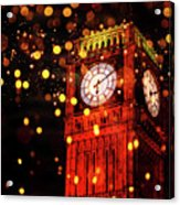 Big Ben Aglow Acrylic Print