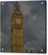 Big Ben During Storm Acrylic Print