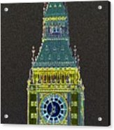 Big Ben Glowing Acrylic Print
