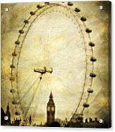 Big Ben In The London Eye Acrylic Print