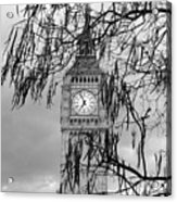 Bw Big Ben London Acrylic Print