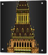 Big Ben Striking Midnight Acrylic Print