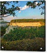 Big Bend Sunrise Letchworth Acrylic Print