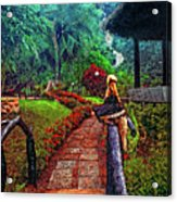 Big Bird Painted Version Acrylic Print