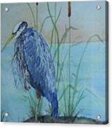 Big Blue Acrylic Print