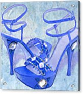 Big Blue Bling  Acrylic Print