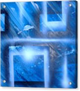 Big Blue II Acrylic Print