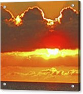 Big Bold Sunset Acrylic Print