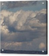 Big Clouds  Acrylic Print