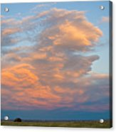 Big Country Sunset Sky Acrylic Print