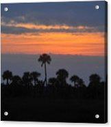 Big Cypress Sunset Acrylic Print